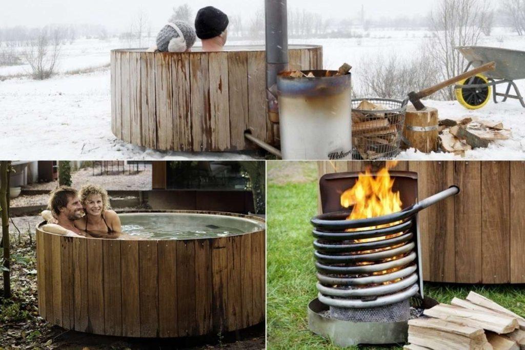 БИО-джакузи на дровах в здравнице Родасвет