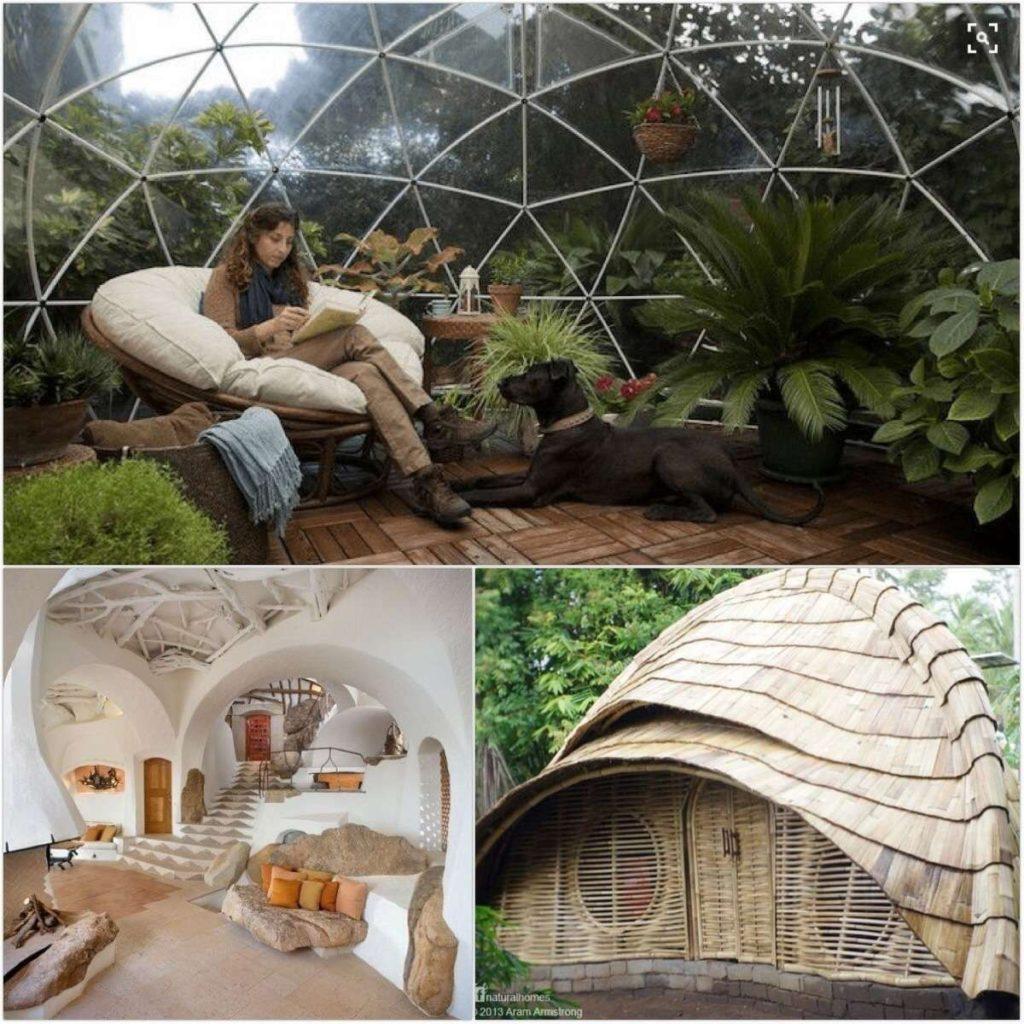 Настоящий эко-дизайн в природном стиле, практично и красиво в здравнице РодаСвет